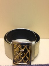 ESCADA Gold Leather Belt