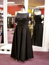 BLACK TIE - Satin Gown