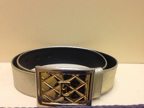 ESCADA Gold Leather Belt