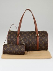 LOUIS VUITTON PAPILLON BAG with ASCESSORY BAG